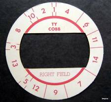 Cadaco All-Star Baseball Game Disk Ty Cobb Right Field