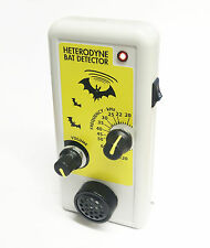 RIVELATORE ad eterodina Pipistrello con altoparlante/Ultrasuoni/Ultrasonic Sound