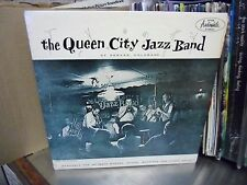 Queen City Jazz Band of Denver Colorado [RED WAX] LP Audiophile Records VG+