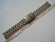 NEW 18MM STAINLESS STEEL BRACELET FITS TAG HEUER F1 CLASSIC / CHRONOGRAPH WATCH