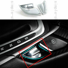 2x Chrome Electronic Handbrake Switch trim Cover For Ford Fusion Mondeo 2013-16