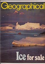 the geographical magazine-DEC 1979-ICE FOR SALE.