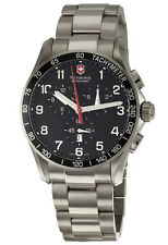 Victorinox Swiss Army Classic Chronograph XLS Titanium Mens Watch 241261