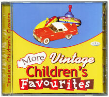 More Vintage Children's Favourites - 20 Timeless Children's Songs  NEW & WRAPPED