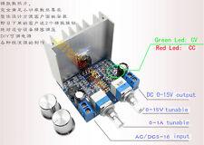 LM358 AC/DC-DC Step Down CC-CV Linear Adjustable Power Supply Module 0-15V 15W