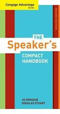 Cengage Advantage Books: the Speaker's Compact Handbook, Revised by Jo...
