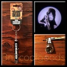 The Walking Dead Daryl Dixon Logo Projection Flashlight Rare Key Fob Ships Fast