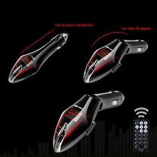 Car MP3 Player Digital Remote Control Wireless Bluetooth FM Transmitter+Charger