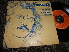 """GUY FRASSETO Telemaque/Les marteaux piqueurs 7"""" RCA Victor FRANCE"""