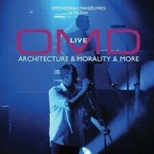 Orchestral Manoeuvres In The Dark Live Architecture & Morality CD NEW SEALED OMD