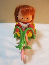 Vintage Strawberry Shortcake tricycle & Doll Figure