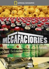 National Geographic: Megafactories - Everyday Icons NEW R4 DVD