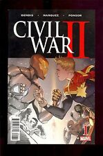 CIVIL WAR II #1 STORE PREMIUM VARIANT NEAR MINT SPIDER-MAN IRON MAN  COMIC KINGS