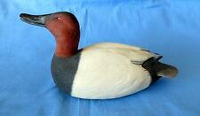1997 HAND PAINTED DUCK DECOY FIGURINE BY GEORGE FOR COLLECTORS COVEY CASTED