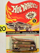 HOT WHEELS 2ND CONVENTION CUSTOMIZED VW DRAG BUS #017
