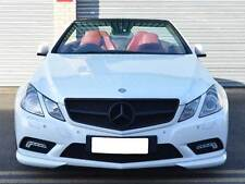 Mercedes W207 E Class Coupe Cab Single Slat grille Matt Black AMG