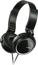 NEW Sony MDRXB250B Over Ear MDRXB250B Black Headphones
