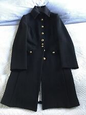 Super Smart United Colour Of Benetton Women's Military Style Coat Size 6/8