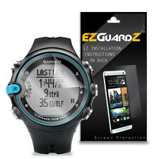 3X EZguardz Screen Protector Skin Cover Shield 3X For Garmin Swim (Ultra Clear)
