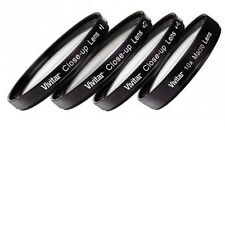 4 piece Close Up filter set +1 +2  +4 &  +10 For Nikon Coolpix P600  P610 Macro