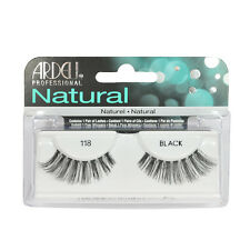 2 Pairs x Ardell Natural Lashes #118 False Eyelashes Fake Lash Eyelash Black