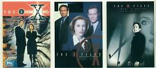 PROMO CARD LOT - THE X-FILES - 3 DIFFERENT CARDS - GILLIAN ANDERSON