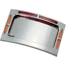 Paughco Bagger Werx Curved LED License Plate Frame - 207011