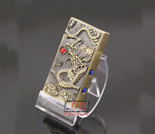 Jet Torch Butane Cigarette Lighter with LED Light Gas Refillable Dragon/Eagle