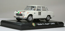 Nice 1/43 Alfa Romeo Guilia TI Super 1963 Swiss Rally RCS Libri Tecilla-Millior
