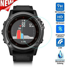 NEW DURABLE Tempered Glass Film Screen Protector for GARMIN Fenix3 HR