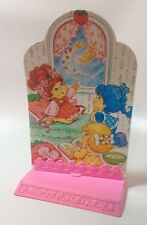 Vintage Strawberry Shortcake Game Piece Standee Slumber Party Base