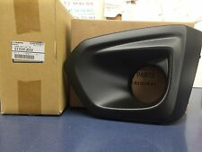 2012-2014 Subaru Impreza LH Left Drivers Side Fog Light Bezel BLACK OEM NEW