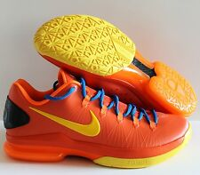 NIKE MEN KD V ELITE KEVIN DURANT TEAM ORANGE-TOUR YELLOW SZ 14 [585386-800]