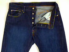Levi's 501 Selvedge Single Stitch Denim Blue Jeans Vintage Style Mens 36 x 32