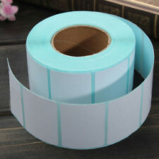 2 Rolls 40x30mm Printing Label Bar Code Number Thermal Adhesive Paper Stickers