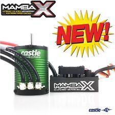 Castle Creations Mamba X SCT Pro Sensored ESC / 1410 3800kV 5mm Motor Combo