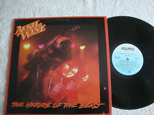 April Wine the nature of the beast Aquarius 1981 Canada VG+ HEAR