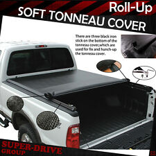 premium Lock Roll Up Tonneau Cover For 15-16 TOYOTA TUNDRA SR5 with 5.5 FT Bed