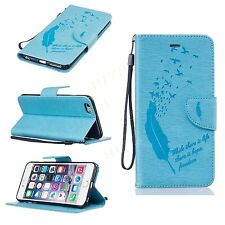 Luxury PU leather phone case wallet cover Magnetic flip folio card holder+strap