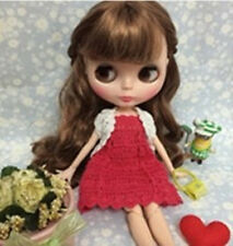 """12"""" Neo Blythe Doll Brown Hair from Factory Joint Body Nude Doll CA6011"""