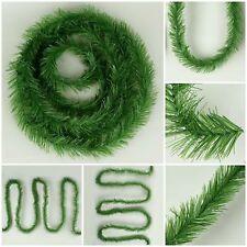4m x7cm Grasgirlande Tannengirlande Tür Deko Weihnachten Weihnachtsgirlande S132