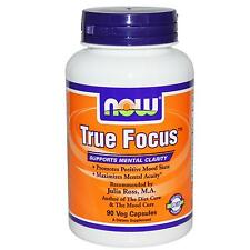 NOW FOODS - TRUE FOCUS - 90 VEG CAPSULES - WITH L-TYROSINE & L-PHENYLALANINE