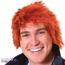 Ginger Chisel Chucky Scotsman Red Henry Book Halloween Fancy Dress Costume Wig