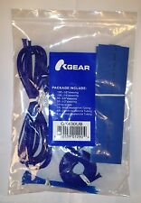 OKGear Blue Wire Sleeving Cable Management Kit