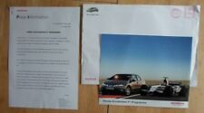 HONDA ACCELERATES F1 PROGRAMME orig 2005 UK Mkt Press Release + Photo  Formula 1