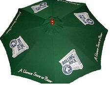 ROLLING ROCK 9 foot BEER UMBRELLA MARKET PATIO STYLE NEW HUGE