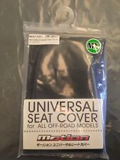 NEW MOTION MX MOTOCROSS OFF ROAD BIKE UNIVERSAL GRIP SEAT COVER BLACK