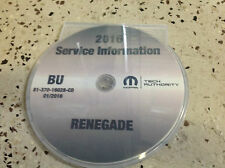 2016 Jeep RENEGADE Service Shop Repair Shop Workshop Manual CD DVD NEW OEM
