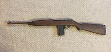 "Vintage 1950s WOOD WOODEN M1 Carbine Rifle TOY gun 36"" VERY COOL RARE!"