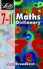 Letts Key Stage 2 KS2 Maths Dictionary For 7-11 Year Olds Paperback